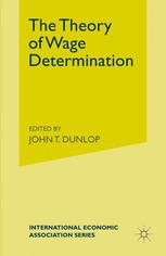 The Theory of Wage Determination