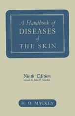 A Handbook of Diseases of the Skin