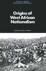 Origins of West African Nationalism