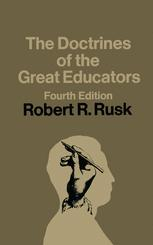 The Doctrines of the Great Educators