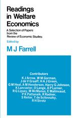 Readings in Welfare Economics