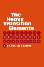 The Heavy Transition Elements