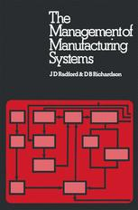 The Management of Manufacturing Systems
