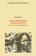 Race, Conflict and the International Order