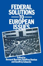 Federal Solutions to European Issues
