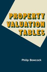Property Valuation Tables