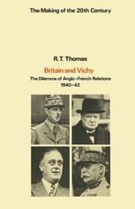 Britain and Vichy