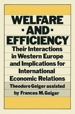 Welfare and Efficiency