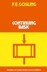Continuing BASIC