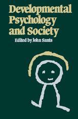 Developmental Psychology and Society