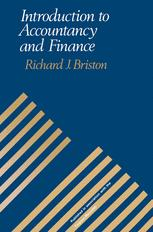 Introduction to Accountancy and Finance
