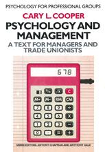 Psychology and Management