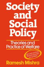 Society and Social Policy