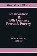 Restoration and 18th-Century Prose and Poetry