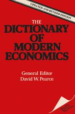 The Dictionary of Modern Economics