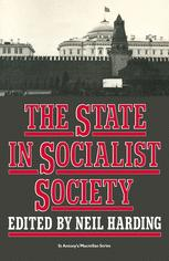 The State in Socialist Society
