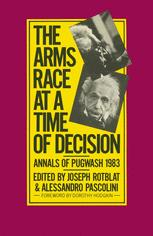 The Arms Race at a Time of Decision