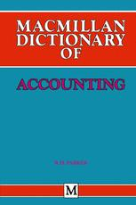 Macmillan Dictionary of Accounting