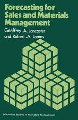 Forecasting for Sales and Materials Management