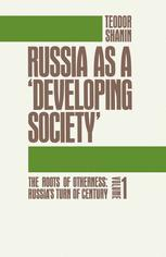 Russia as a 'Developing Society'