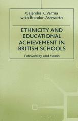 Ethnicity and Educational Achievement in British Schools