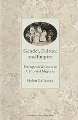 Gender, Culture and Empire