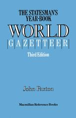 The Statesman's Year-Book World Gazetteer