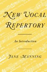 New Vocal Repertory