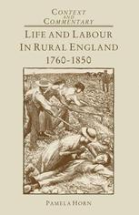 Life and Labour in Rural England, 1760–1850
