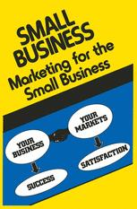 Marketing for the Small Business
