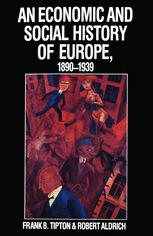 An Economic and Social History of Europe, 1890–1939