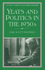 Yeats and Politics in the 1930s