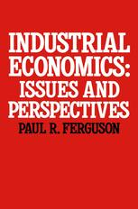 Industrial Economics: Issues and Perspectives
