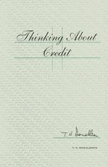 Thinking about Credit