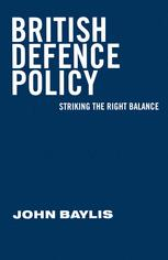 British Defence Policy