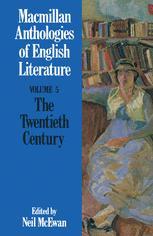 The Twentieth Century (1900–present)