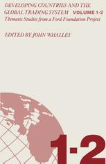 Developing Countries and the Global Trading System