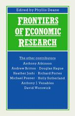 Frontiers of Economic Research