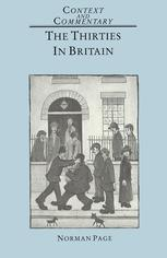 The Thirties in Britain