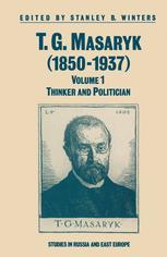 T. G. Masaryk (1850–1937)