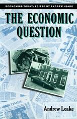 The Economic Question