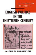 English Politics in the Thirteenth Century