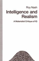 Intelligence and Realism