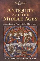 Antiquity and the Middle Ages