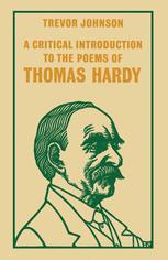 A Critical Introduction to the Poems of Thomas Hardy