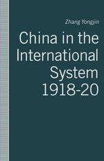 China in the International System, 1918–20
