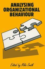 Analyzing Organizational Behaviour
