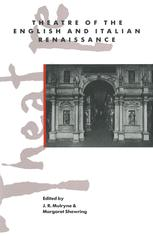 Theatre of the English and Italian Renaissance