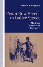 From Bow Street to Baker Street