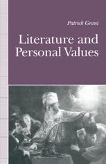 Literature and Personal Values